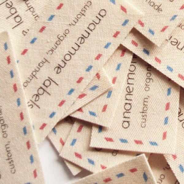 spausdintos etiketes